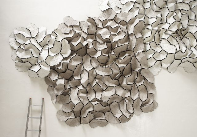 - In collaboration with Kvadrat, internationally acclaimed designers Ronan and Erwan Bouroullec created Clouds, an innovative, interlocking fabric tile concept for the home. Clouds can be used as an installation and be hung from a wall or ceiling.