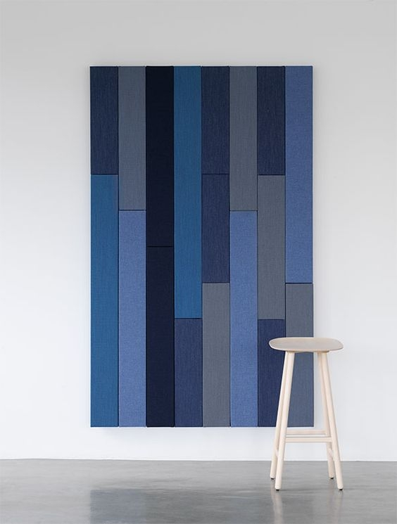 - Timber can be used as classic wall panelling, decorative half-wall panelling, to imitate walls of offcuts, or in elegant herring-bone patterns as graphic wall pieces.