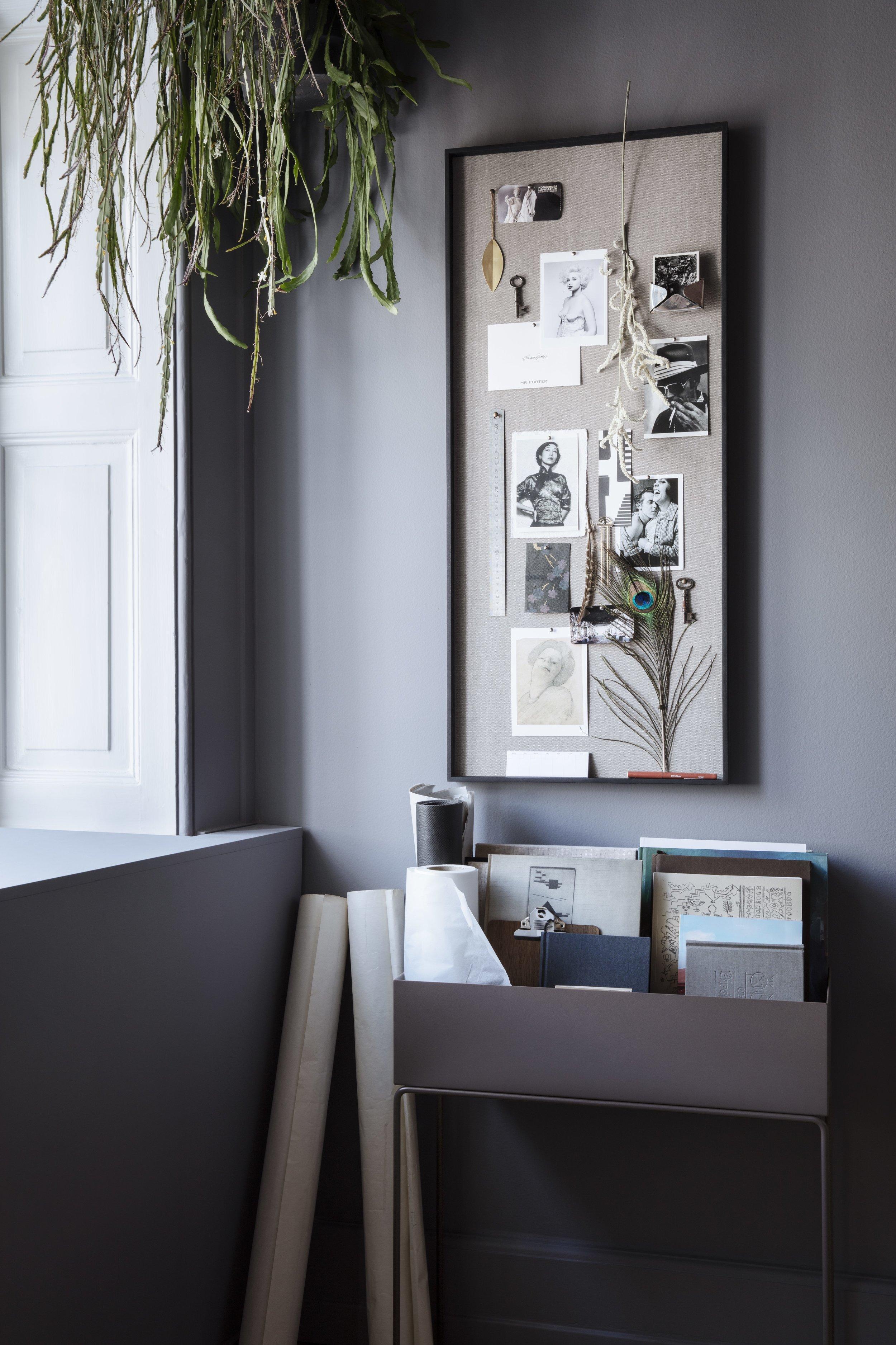scenery pin board, ferm living, workspace, interiors, scandinavian design.jpg