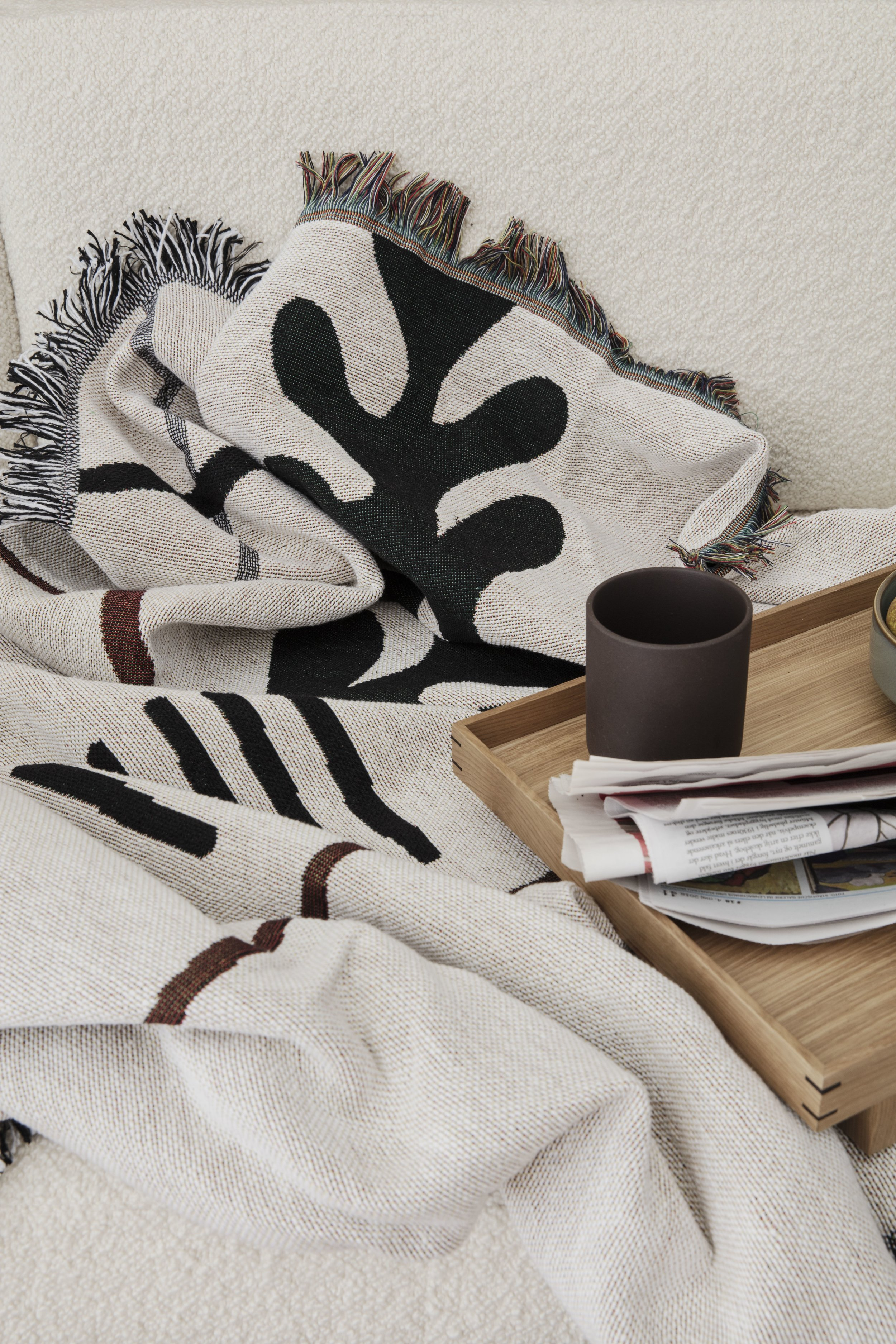 Mirage blanket, ferm living, textiles, throw, scandinavian design, home accesories .jpg