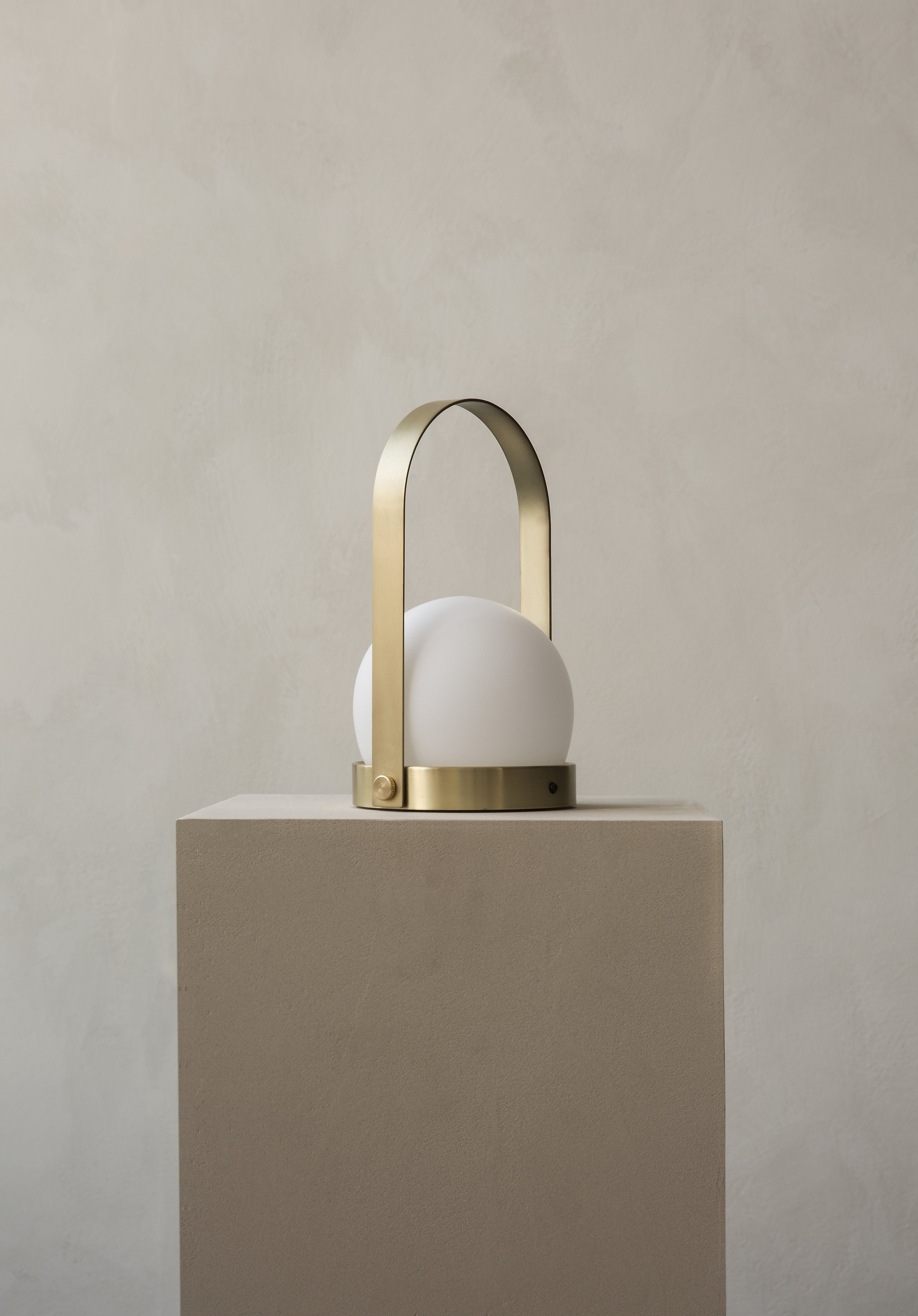 Carrie led lamp Brushed brass