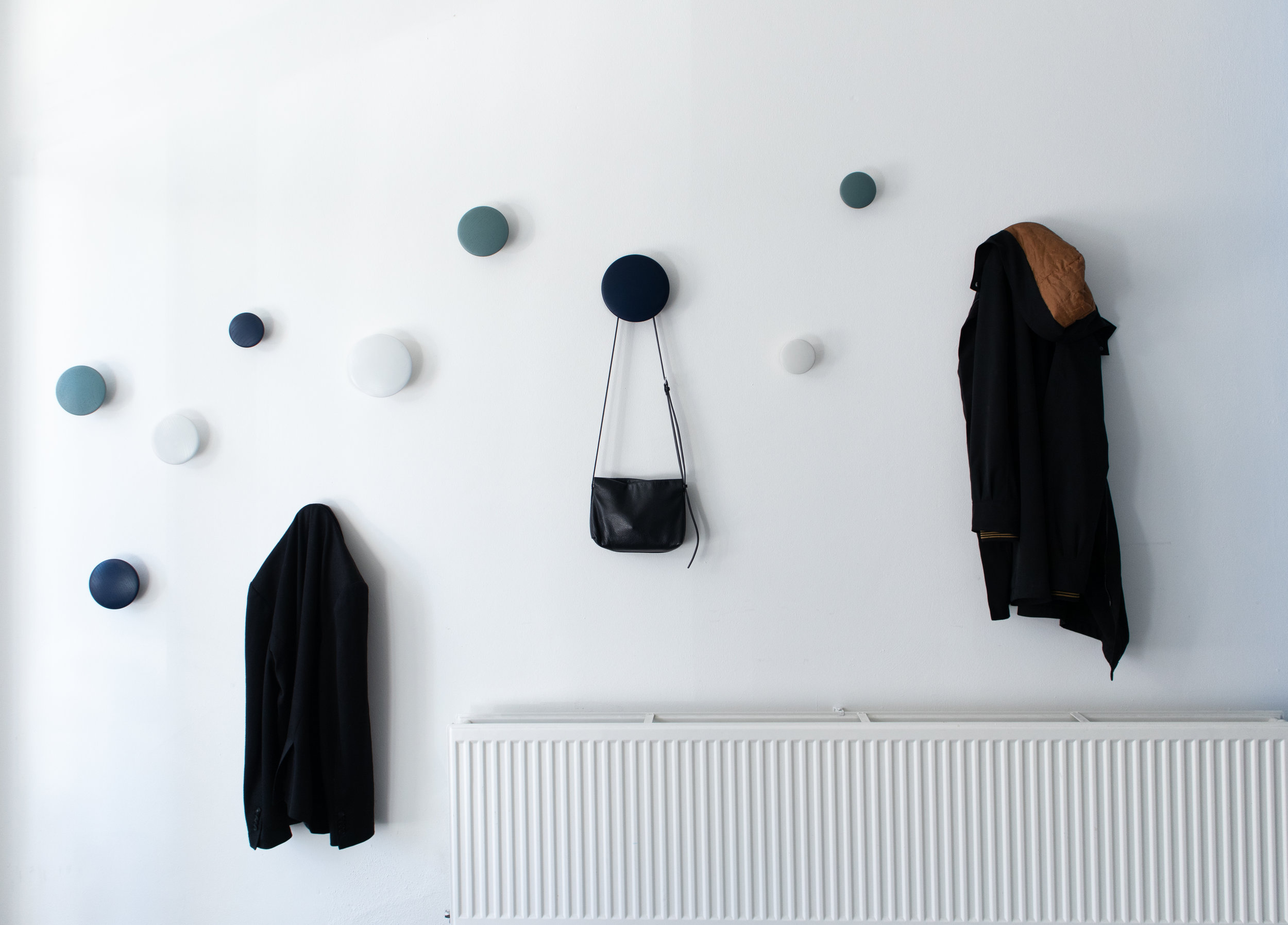 Entrance, hall, the dots Muuto interior design, interior project for Kors IT Headquarters in Eindhoven.jpg