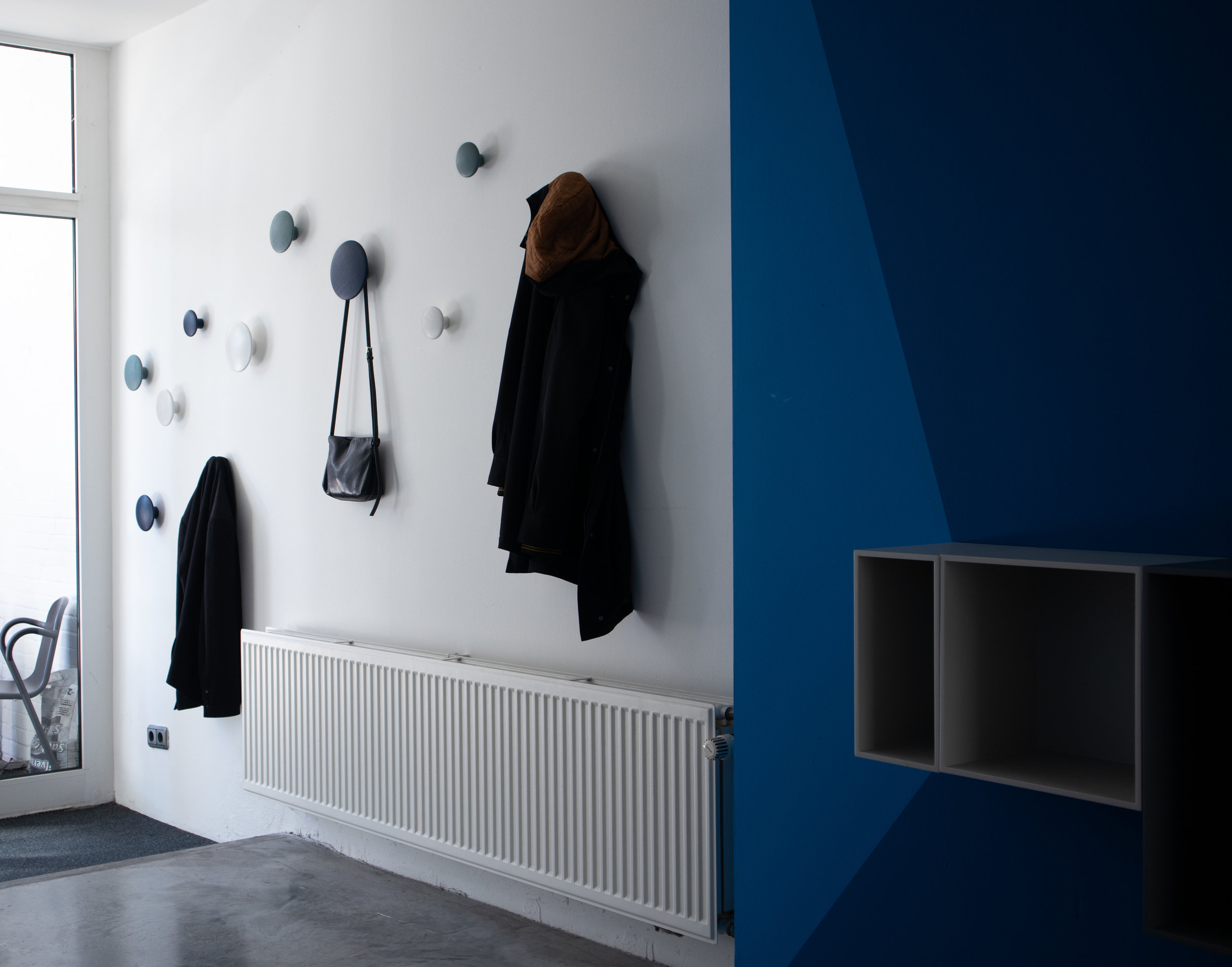 Entrance, hall, the dots Muuto interior design, interior project for Kors IT Headquarters in Eindhoven 1.jpg