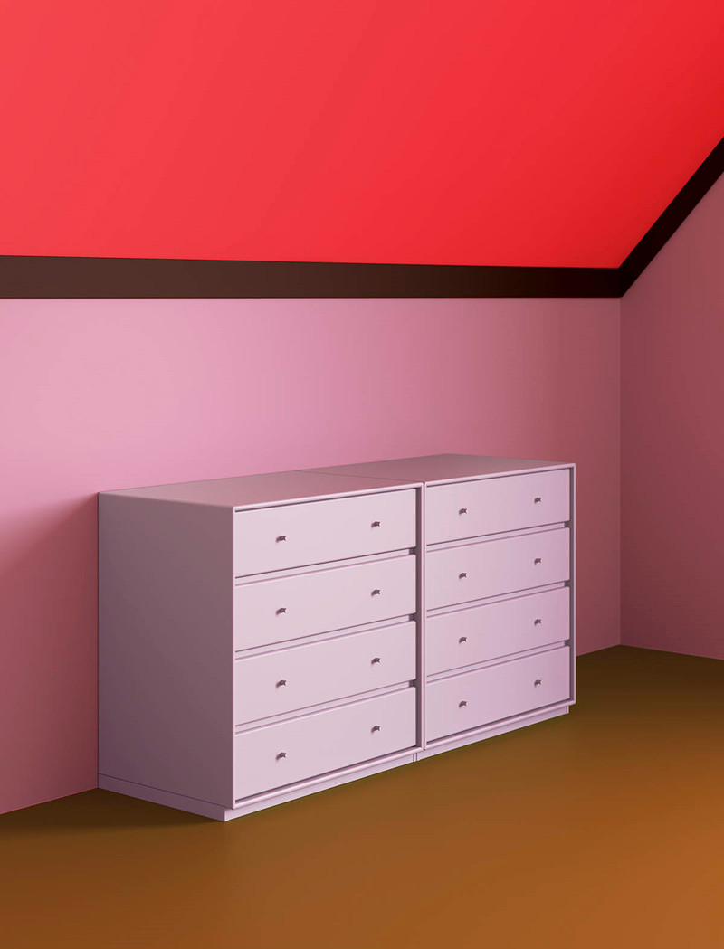 Draw - The ideal dresser for the living room, bedroom or home office where to store and keep things in order until you need them again.