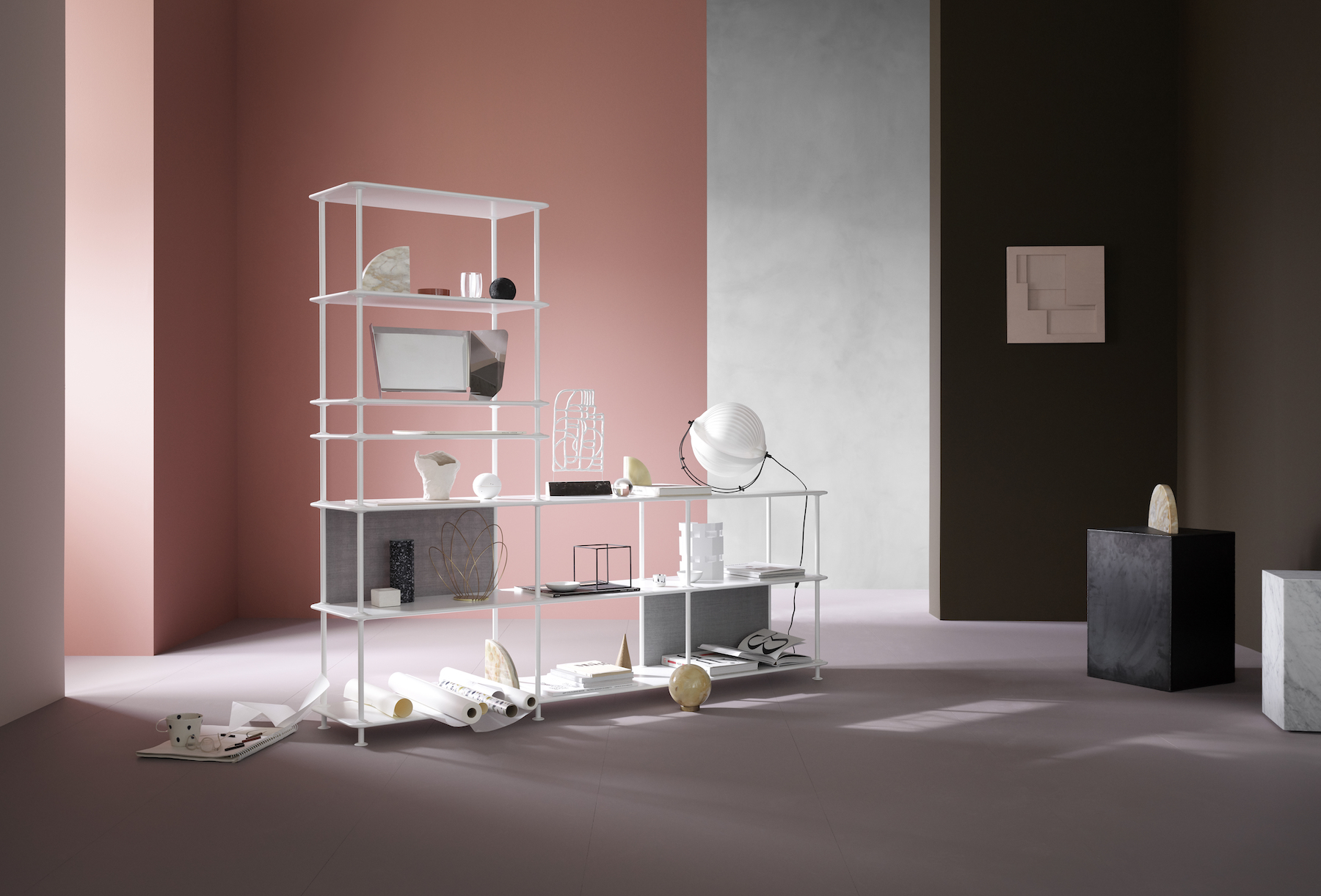 Montana Free Shelving ChinaRed, storage solutions, scandinavian design, interiors styling 6.jpg