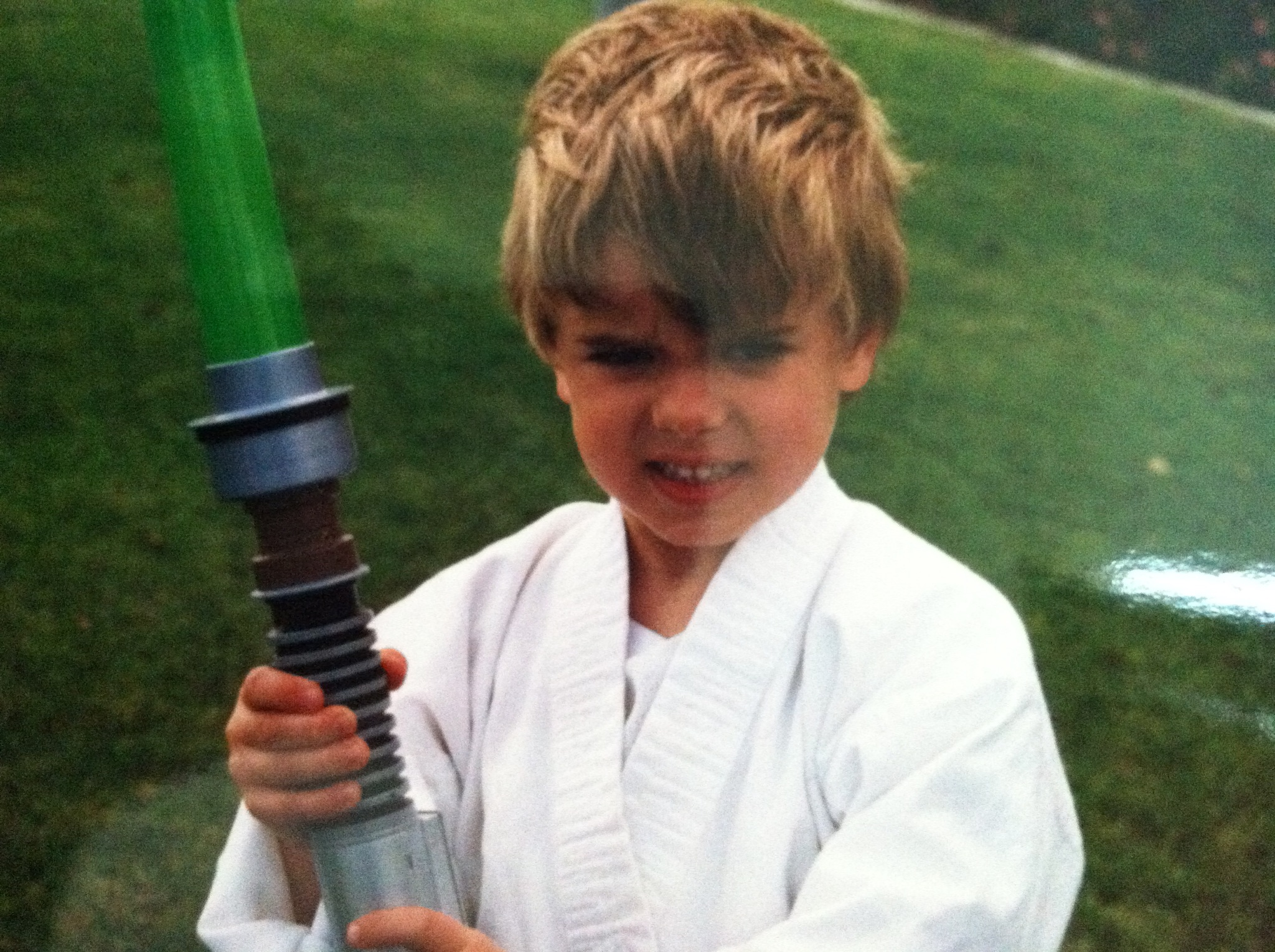 lITTLE KNOWN FACT: I was A JEDI.