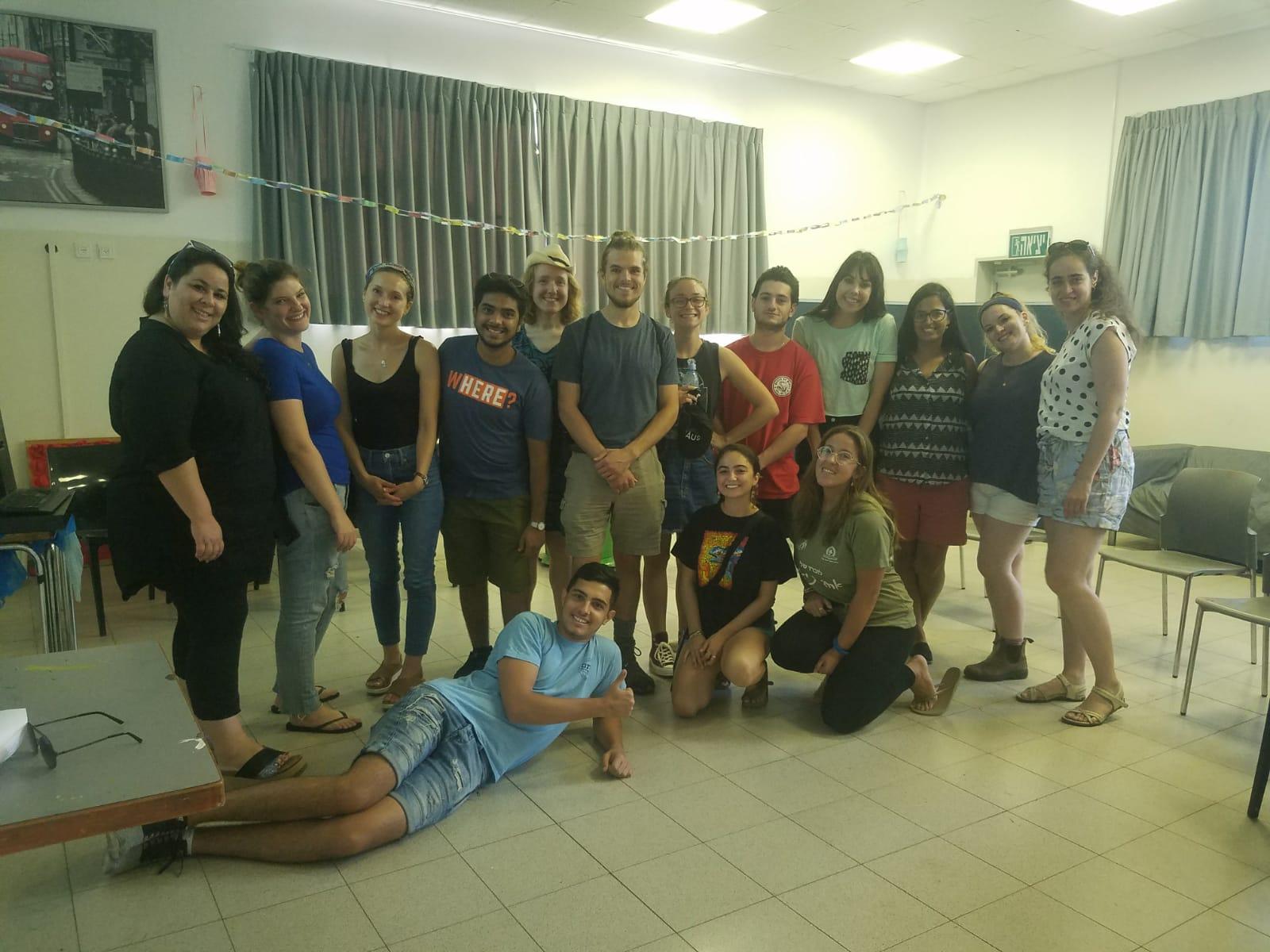 Yahel Fellows in Matnas; Rishon Lezion