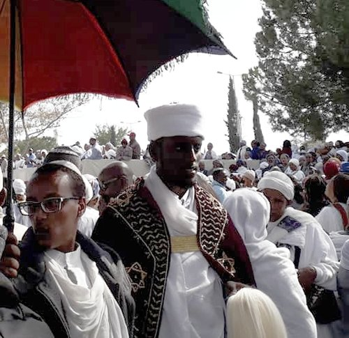 Ethiopian kess at sigd festival, jerusalem, 2018