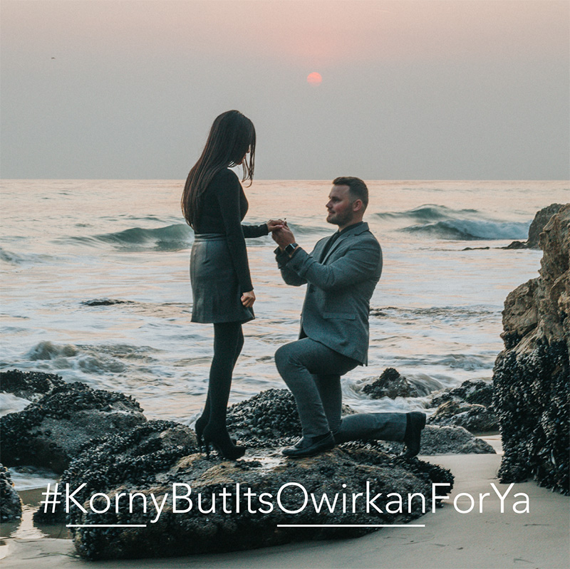 Get 5 custom last name wedding hashtags, written by humans, not algorithms. Guaranteed unused on Twitter and Instagram.