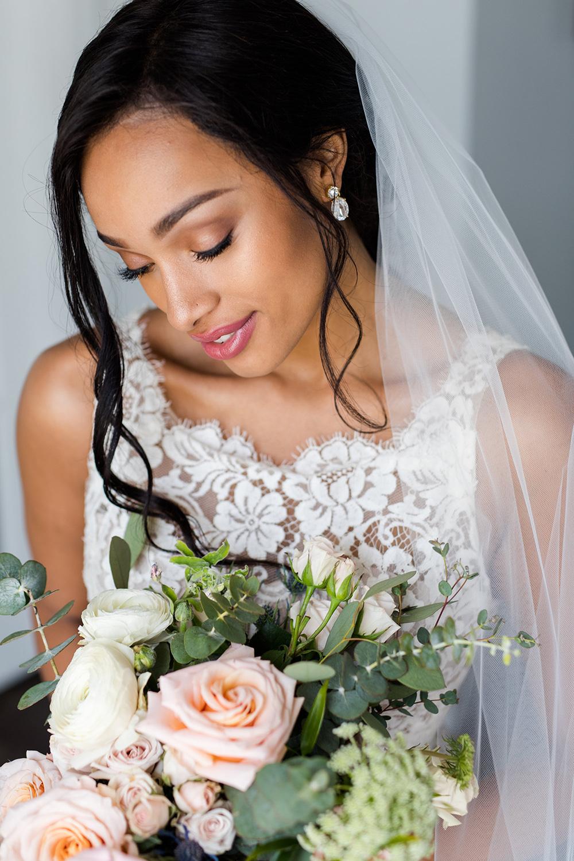 Long Chapel Length Wedding Veil   Petal & Veil