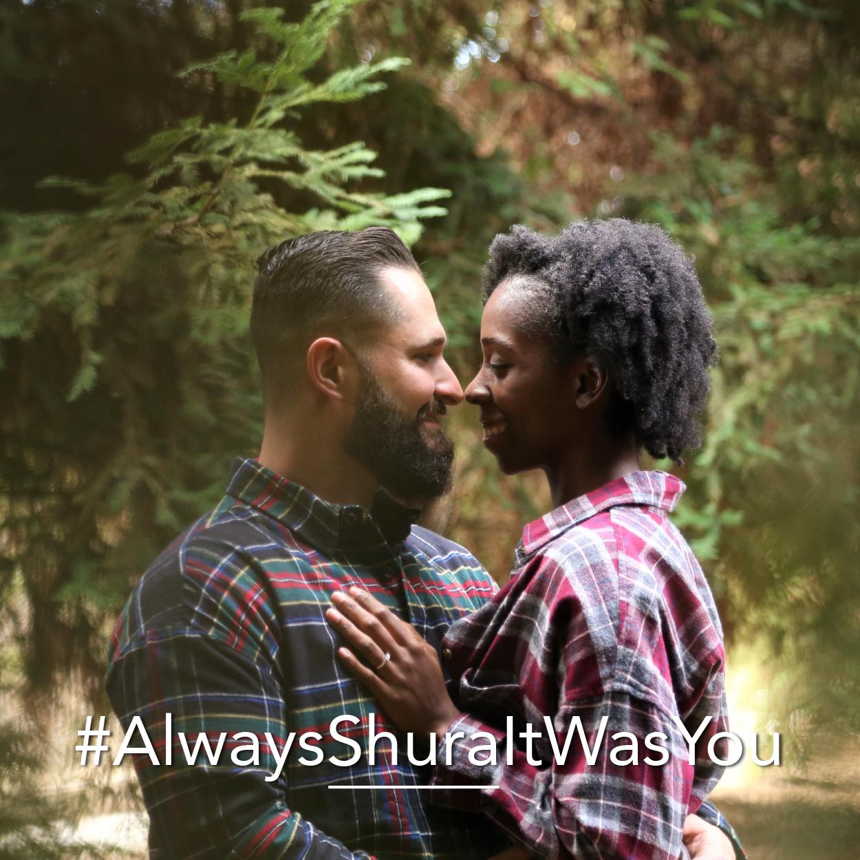 Customized last name wedding hashtags | Petal & Veil