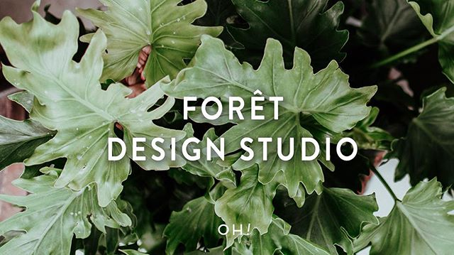 The creative process for the @ladies_of_foret starts with a feeling or mood— from there, they gather and collect inspiration to build a concept that turns a dream into reality. #galleryoh