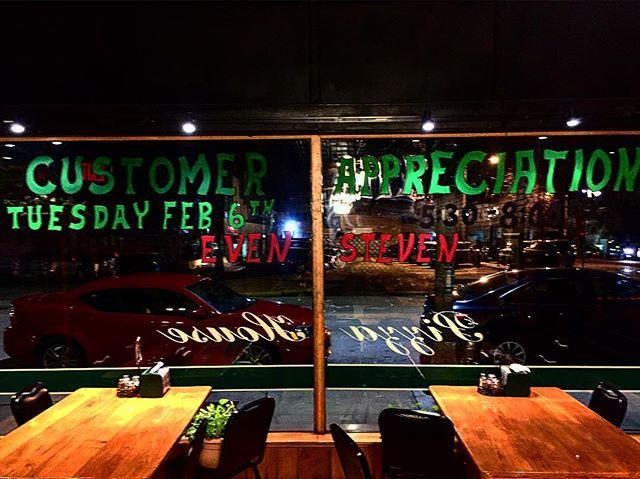 Annual Customer Appreciation Night Feb. 6th #pizzahouse #pizzatime #galesburgillinois #gburg2018