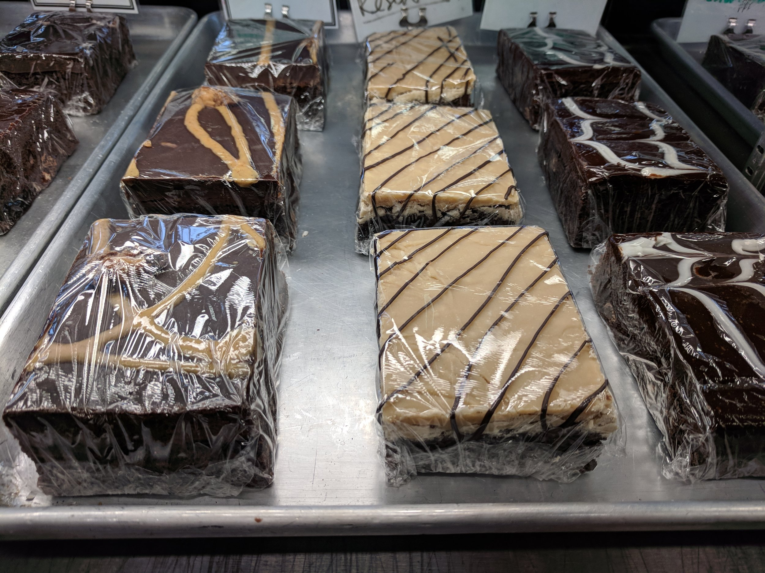 Ice Cream's not our only thing. We also make custom baked goods! Brownies. Cookies. Cakes. Macarons too! -