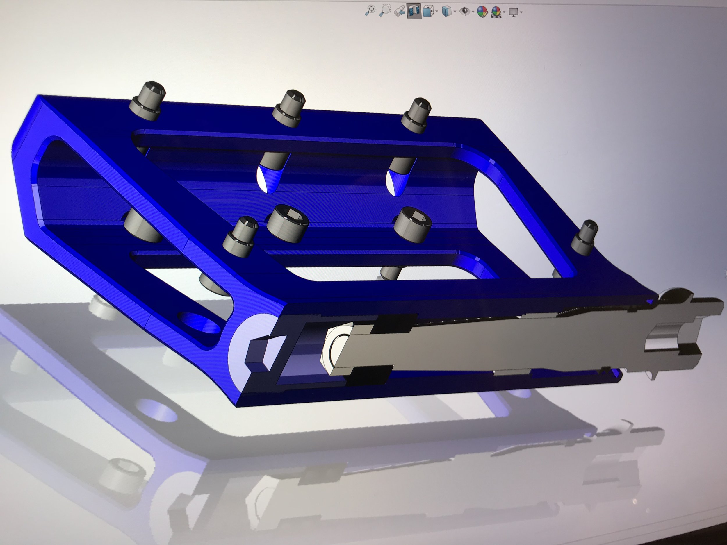 Specialist CAD/CAM Modelling Software - We use Solidworks and Autodesk CAD/CAM software for designing and creating machine code.We only program offline due the complex nature of the products we manufacture with code often in hundreds of thousands of lines per program.