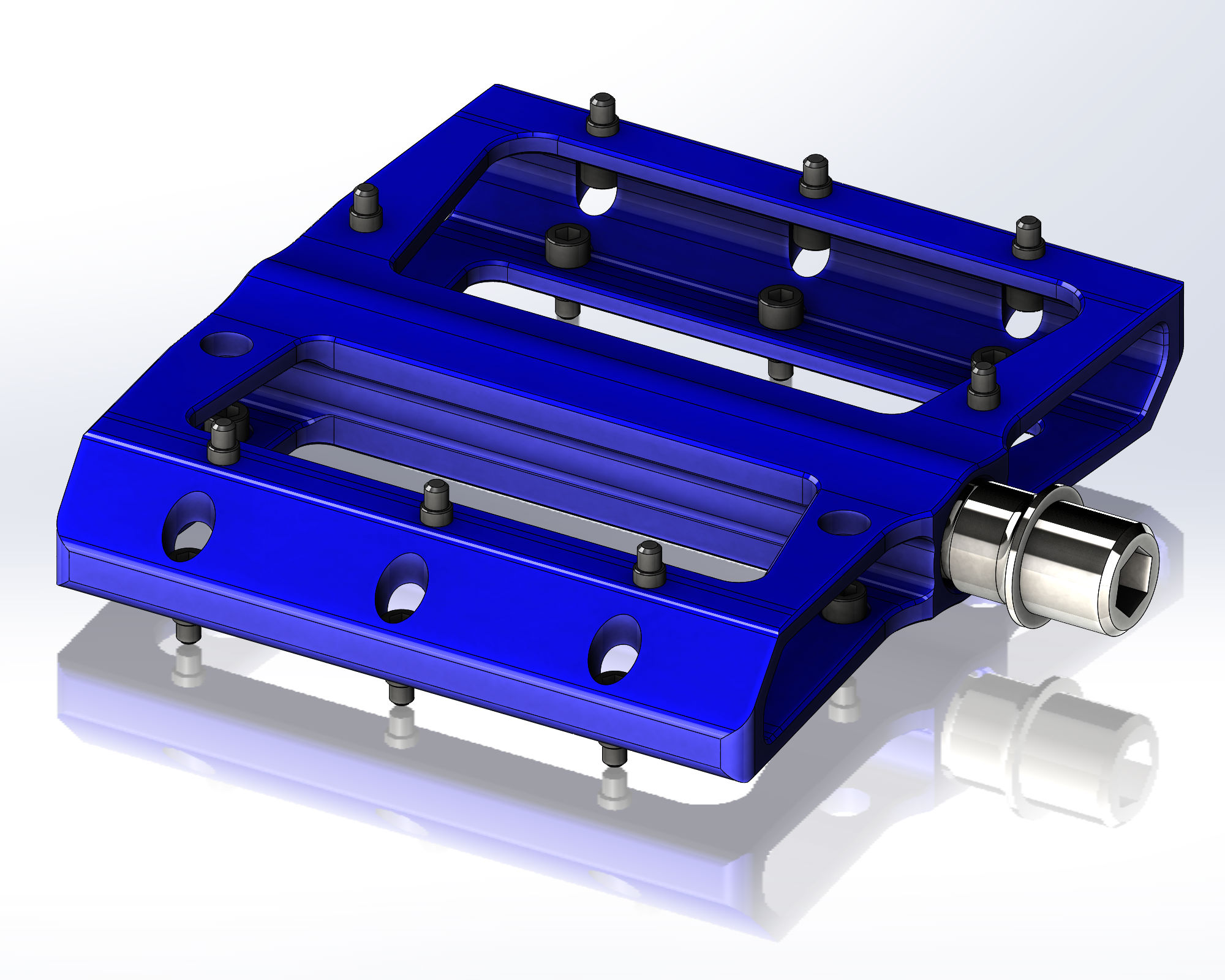 Flat Pedals - Manufactured to custom designs with supply of high end forged axle systems in steel or titanium available. Custom seals provided with high tech IGUS bushings.MOQ - 250 pairs, standard extrusionMOQ - 1000 pairs, custom extrusionPrice: Asia competitive