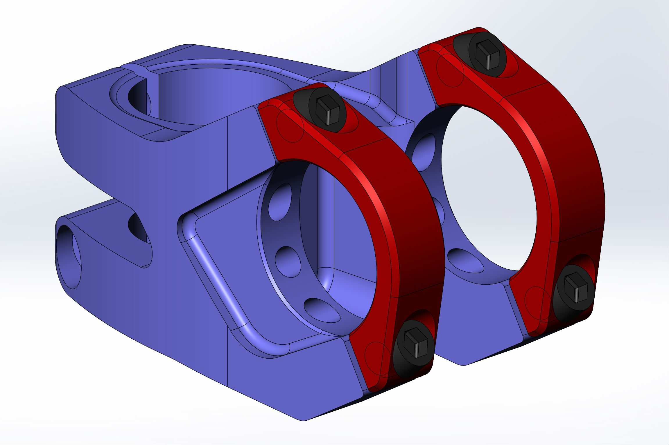 5 Axis CNC Stems - Manufactured to customer's unique designs. 24/7 production with Matsuura 32 pallet 5 axis cell for maximum efficiency and quality finish.MOQ - from 100 p/size/modelPrice: Asia competitive