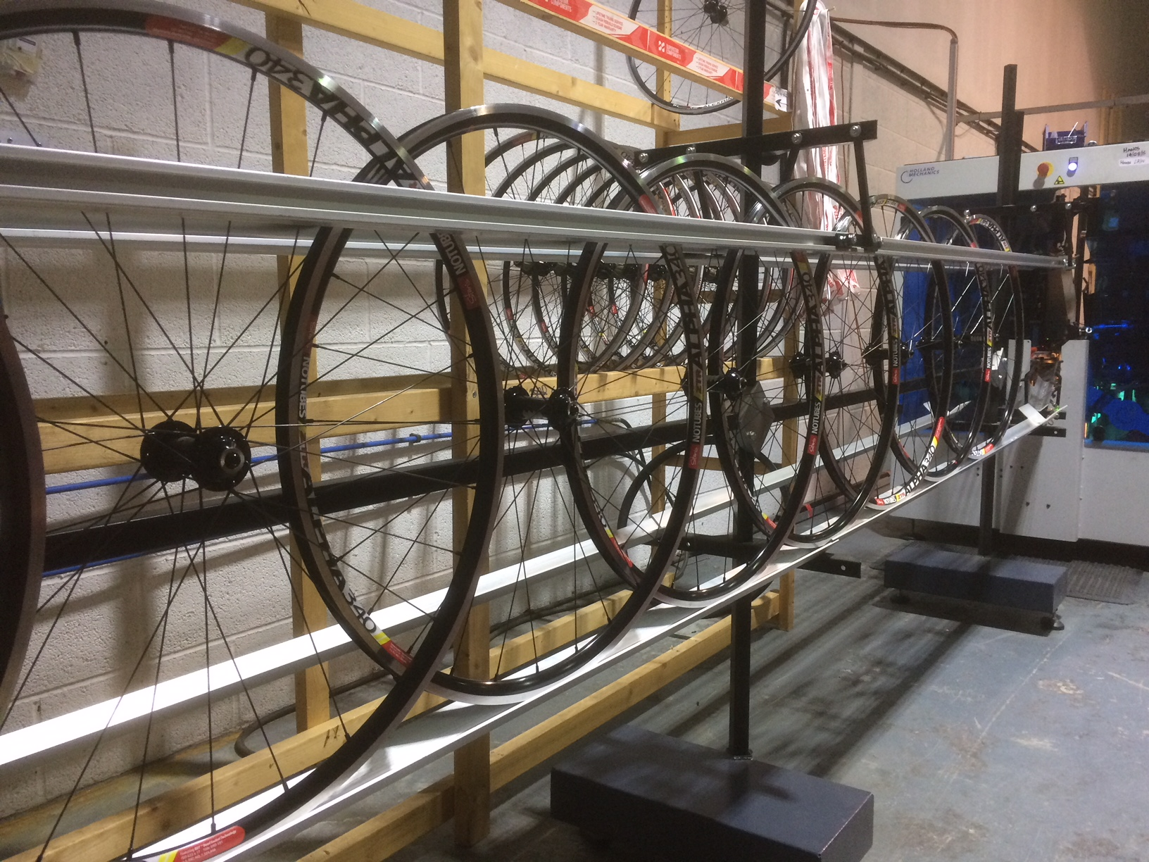 Wheelbuilding - Our wheel building line is the most advanced available. We can build consistent precision quality wheels in high volume to meet your requirements, with short lead times.MOQ - 100 pairsPrice: cheaper and faster than shipping from Asia