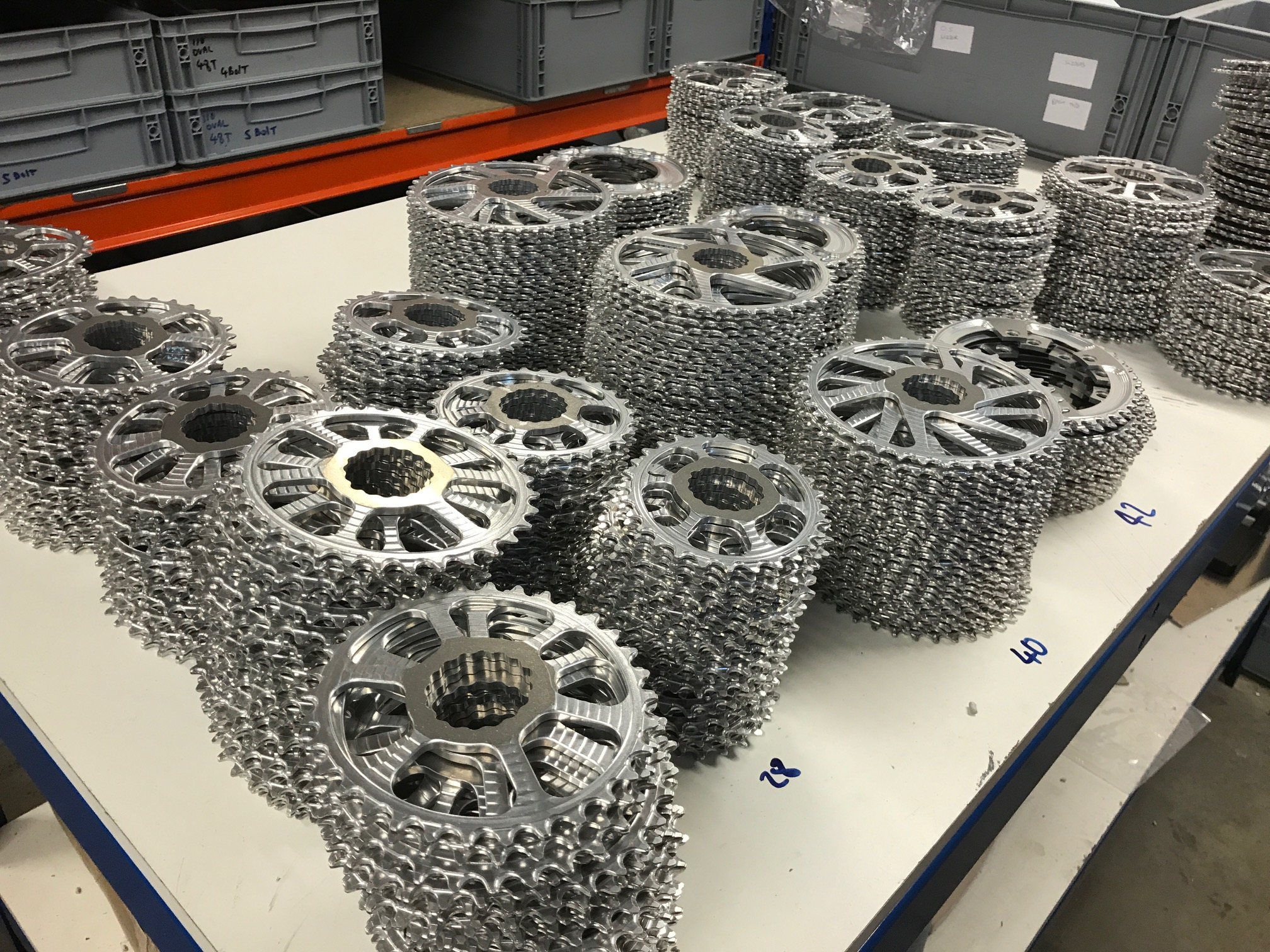 Volume ManufactureYour Design - We specialise in manufacturing CNC parts fast. Although we specialise in bicycle components, we have clients across a wide range of industries. We are happy to quote on any drawing/3D model you are looking to manufacture - send us your drawings for a quote.See our gallery for a range of parts we have made
