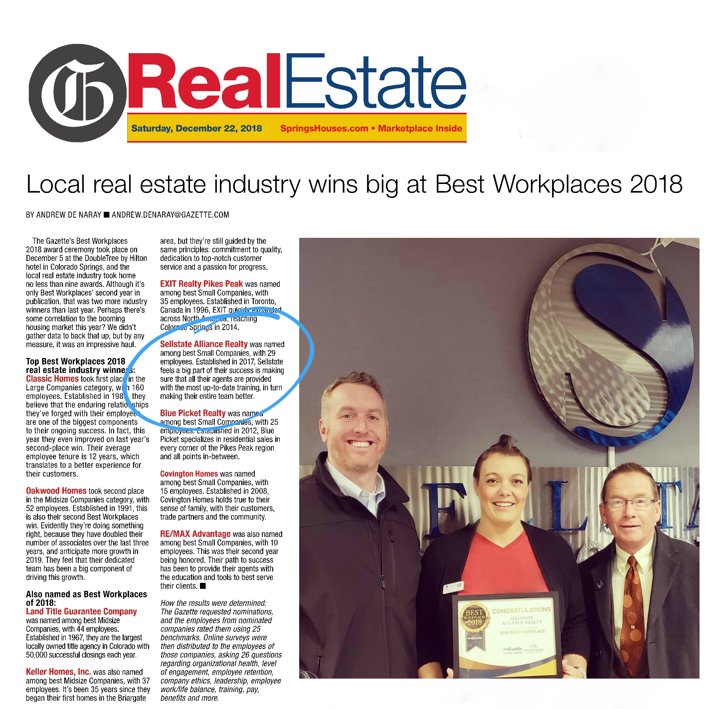 Gazette Best Workplace 2018 Carrie photo with circle.png