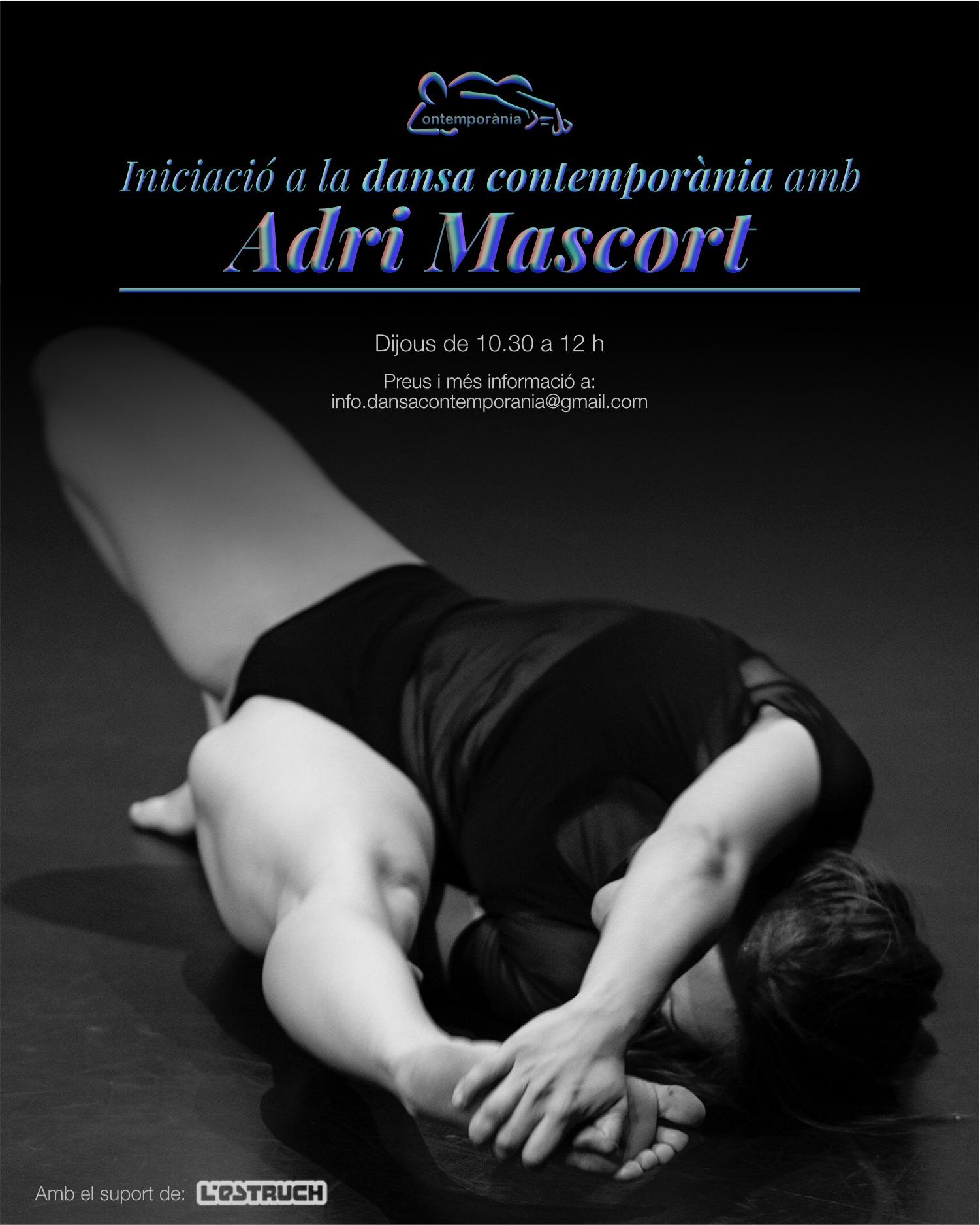L'ESTRUCH FÀBRICA DE CREACIÓ, Sabadell - Cada jueves a partir del 12 de Septiembre de 2019 hasta el mes de febrero de 2020 con Adri Mascort.De 10:30 h a 12 h
