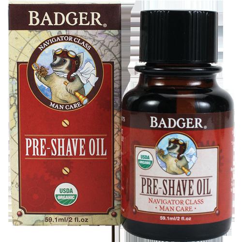 Badger  Pre-Shave Oil, 2 oz. $18.00