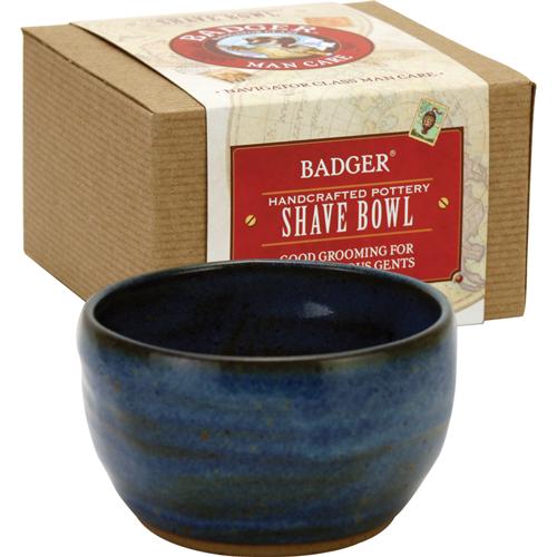 Badger  Handmade Pottery Shaving Bowl, $30.00