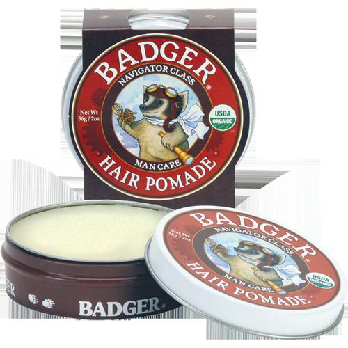 Badger  Hair Pomade, 2 oz. $16.00