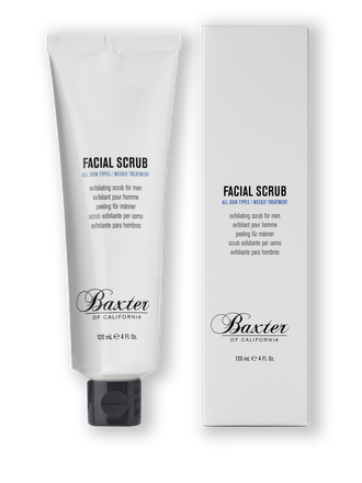 Baxter of California  Facial Scrub, 4 oz. $20.00