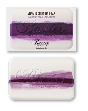 Baxter of California  Vitamin Cleansing Bar, Bergamot & Pear Essence, $17.00