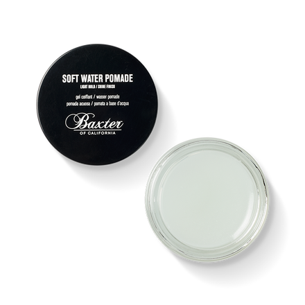 Baxter of California  Soft Water Pomade, $23.00