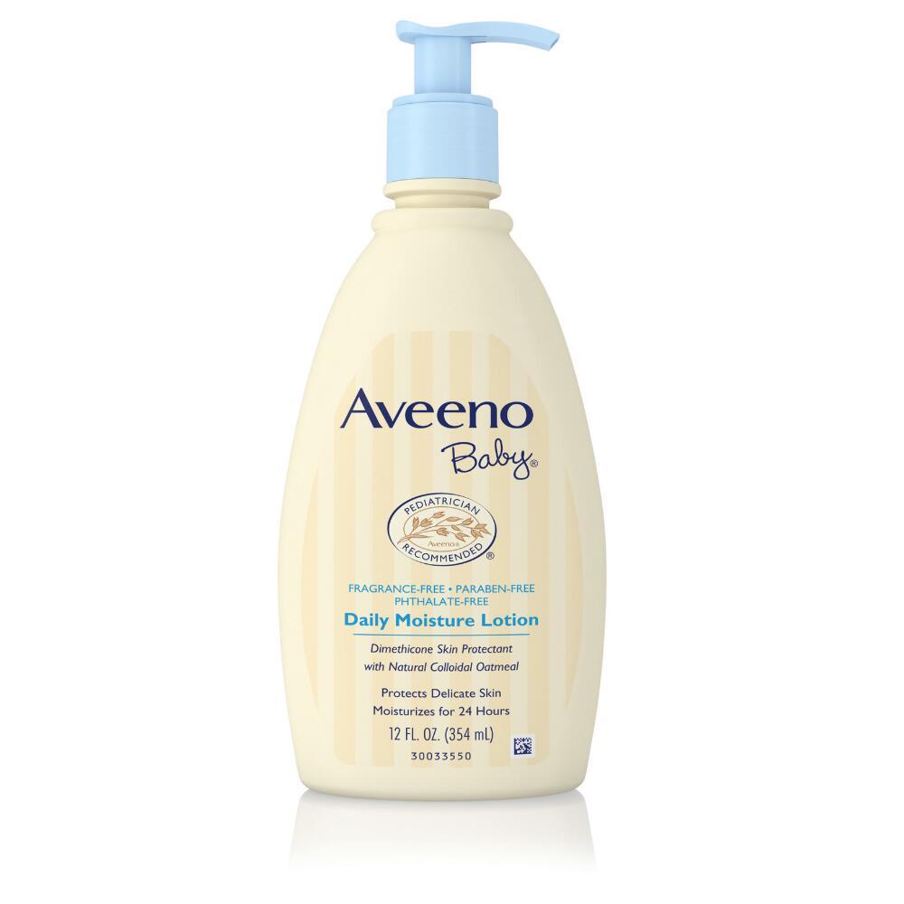 Aveeno Baby  Daily Moisture lotion,12 oz. $9.00
