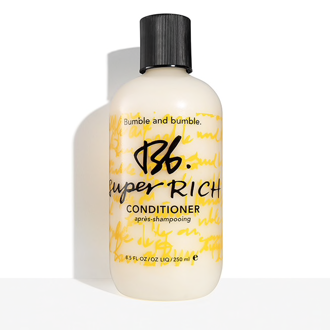 Bumble and bumble.  Super Rich Conditioner, 8.5 oz. $28.00
