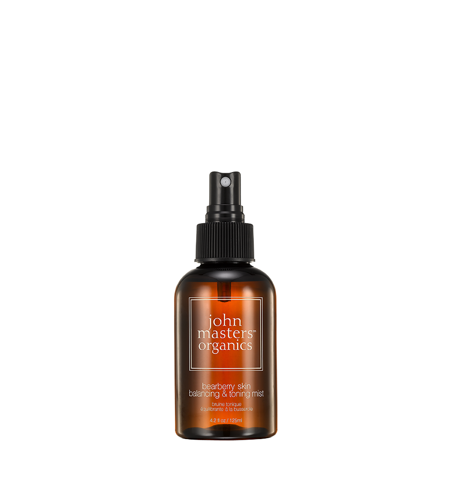 John Masters Organics  Bearberry Skin Balancing & Toning Mist, 4.2 oz. $30.00