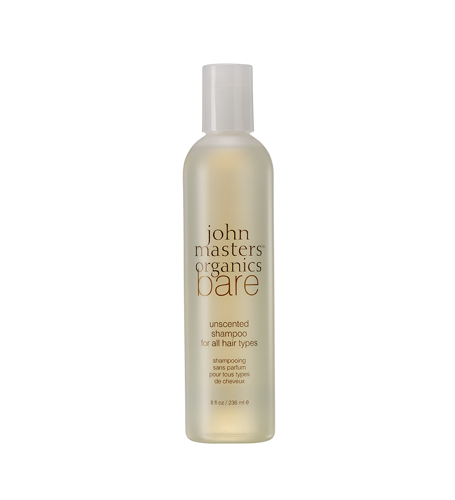 John Masters Organics  Bare Unscented Shampoo For All Hair Types, 8 oz. $14.50
