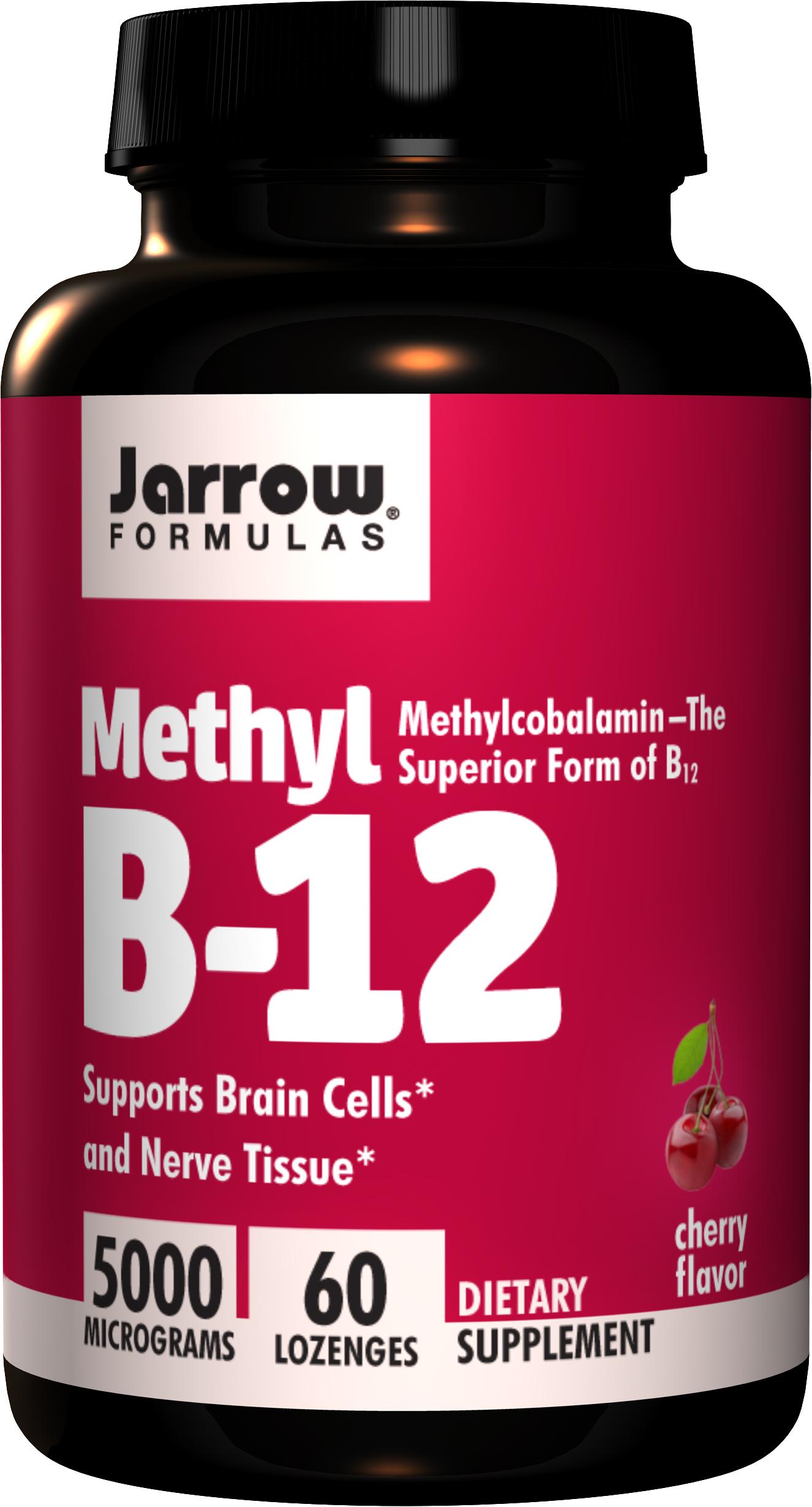 Jarrow Methyl B-12 5000mcg