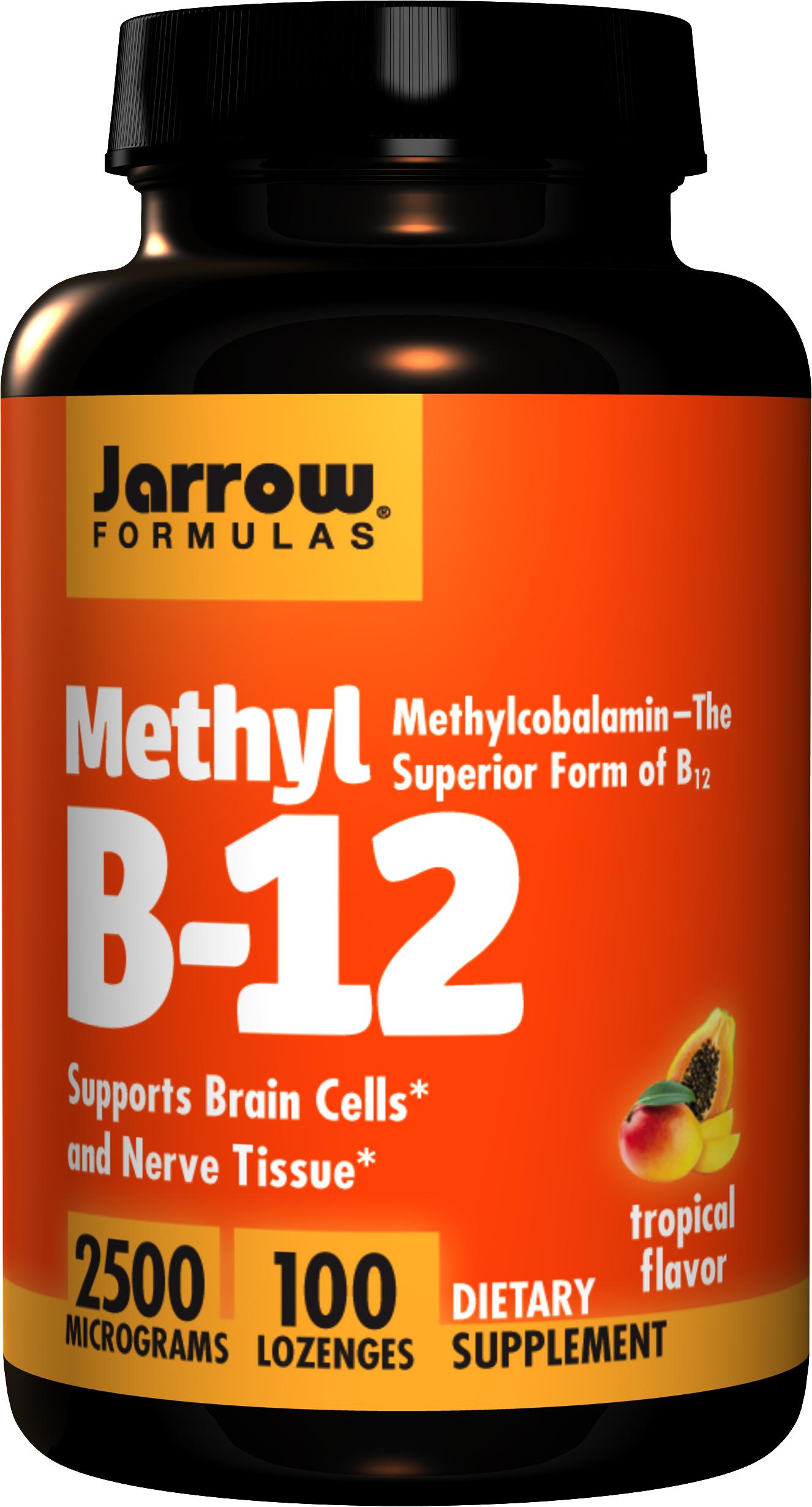 Jarrow Methyl B-12 2500mcg