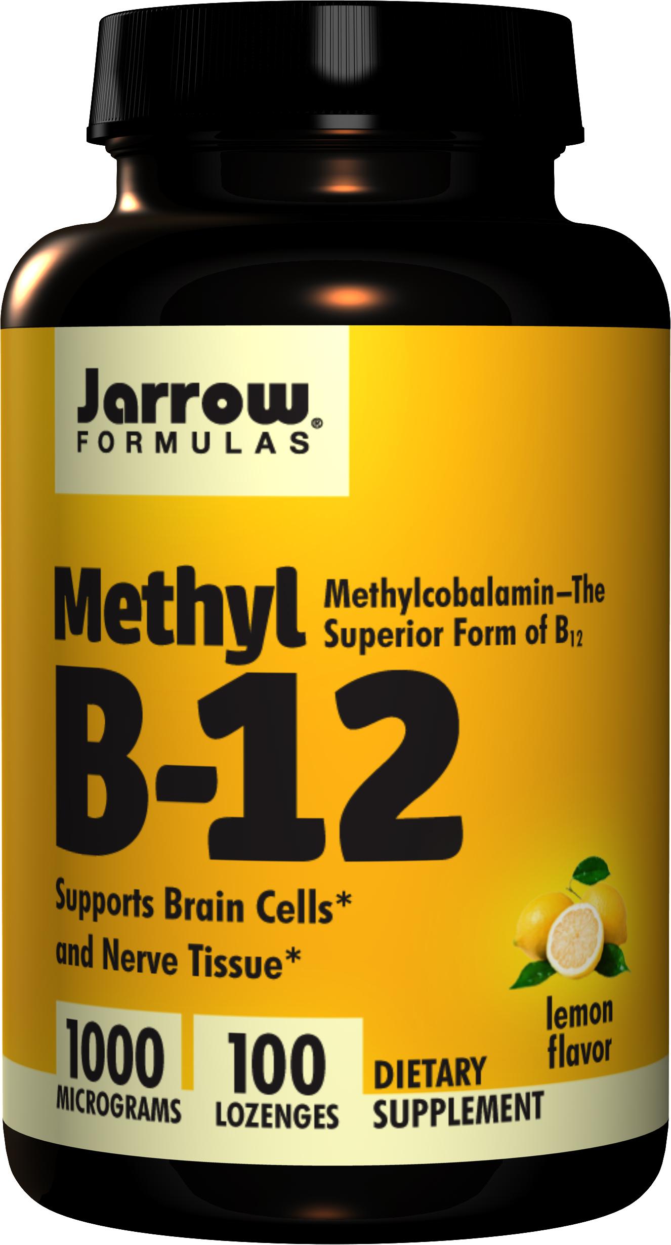Jarrow Methyl B-12 1000mcg