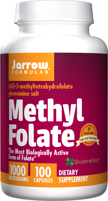 Jarrow Methyl Folate 1000mcg