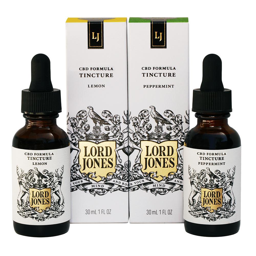 Lord Jones  Tinctures (Lemon or Peppermint flavor), $60.00