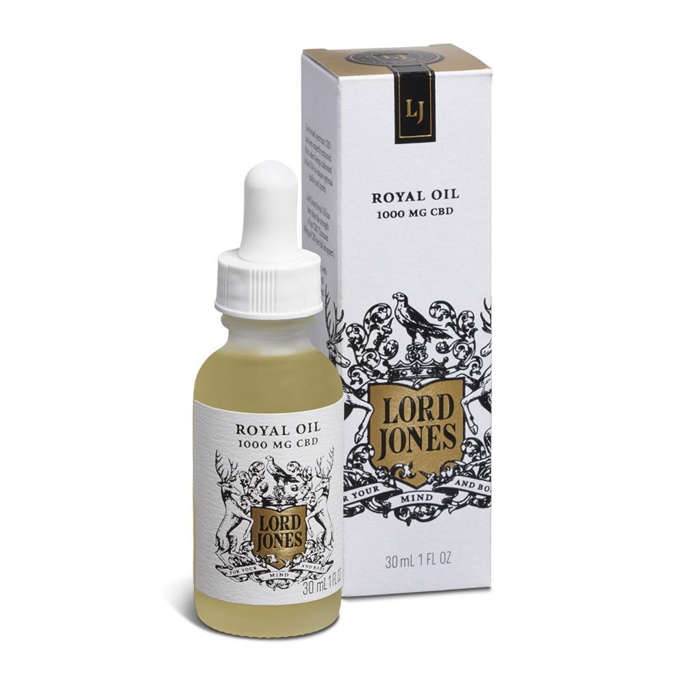 Lord Jones  Royal Oil, $100.00