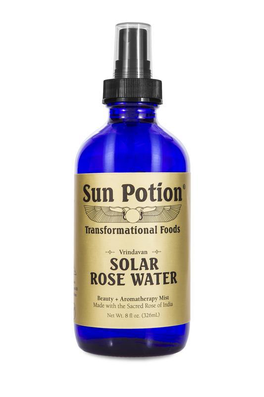 Sun Potion  Solar Rose Water 8 oz.