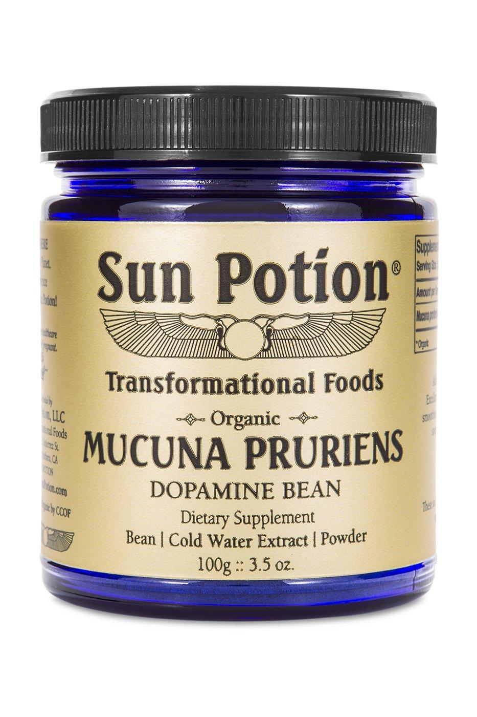 Sun Potion  Mucuna Pruriens 100g
