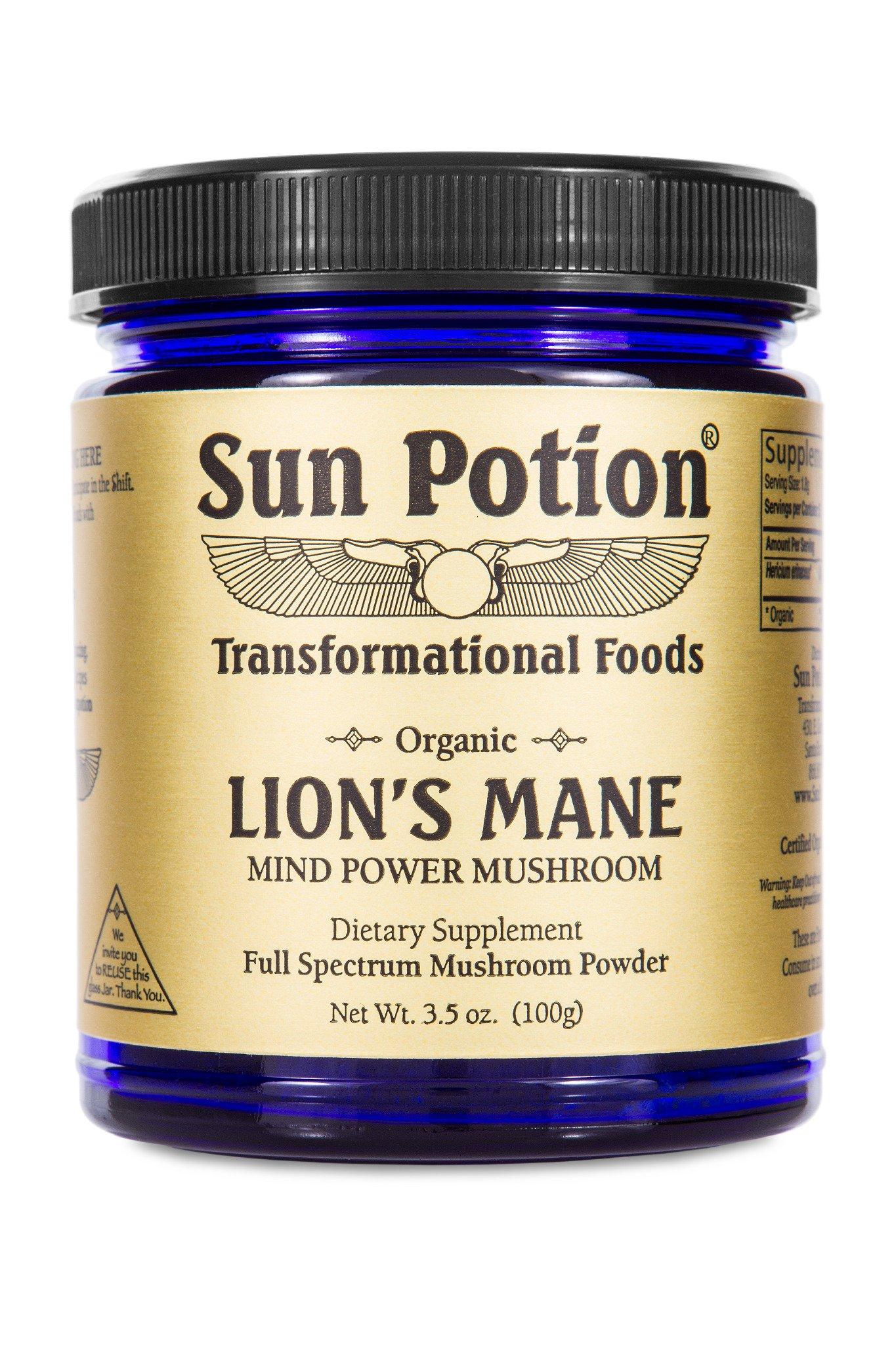 Sun Potion  Lion's Mane Mushroom 100g