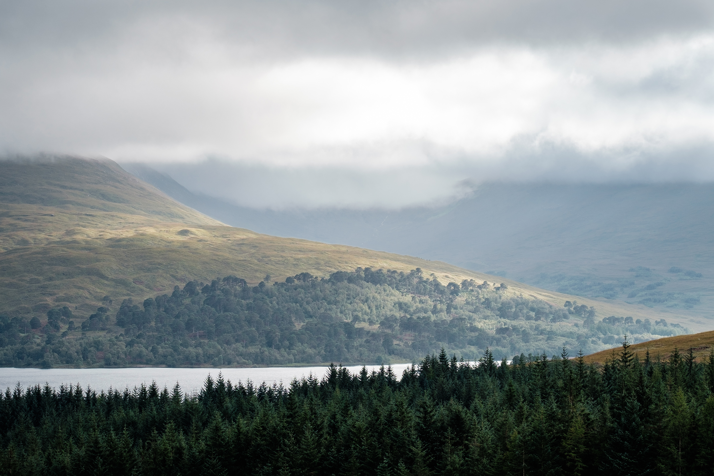 landscape, scotland, highlands, aberdeenshire, cairngorms, house, home