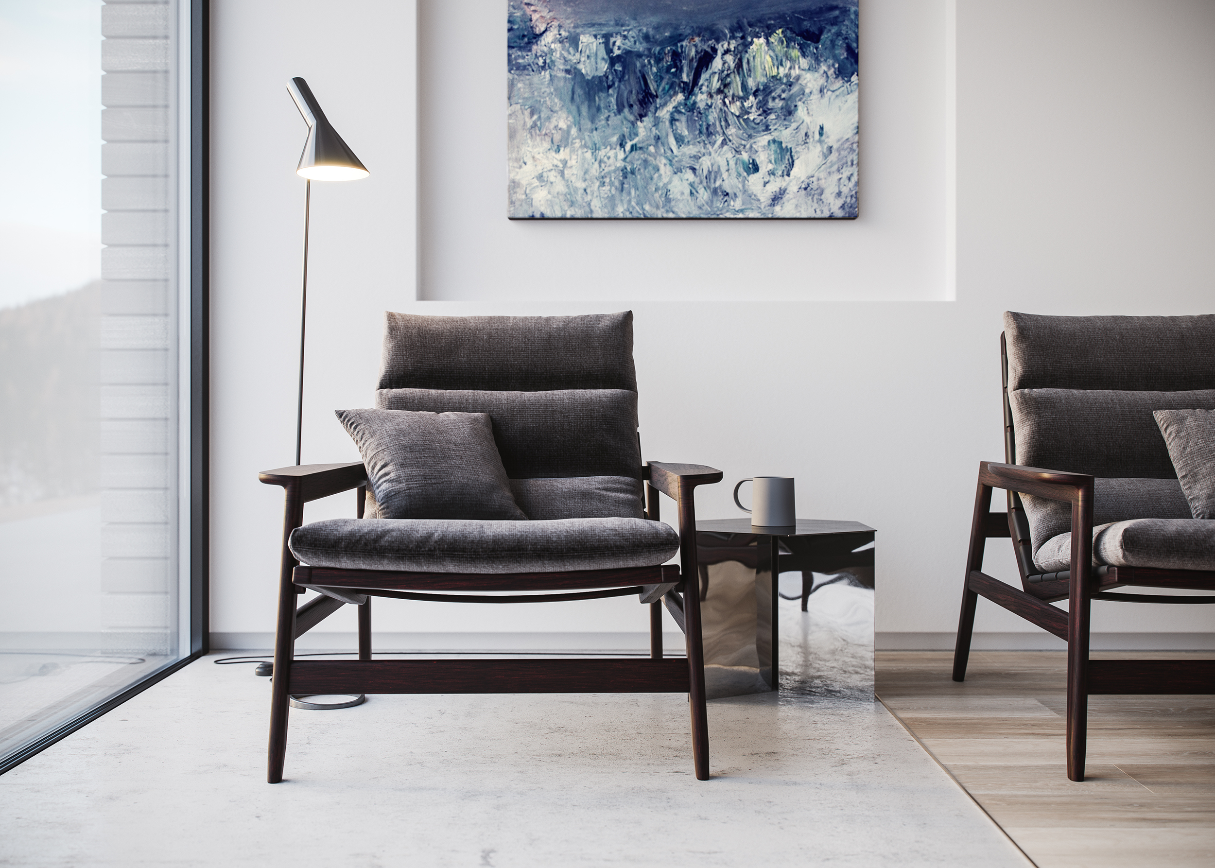 chair, luxury, highlands, house, bespoke, contemporary
