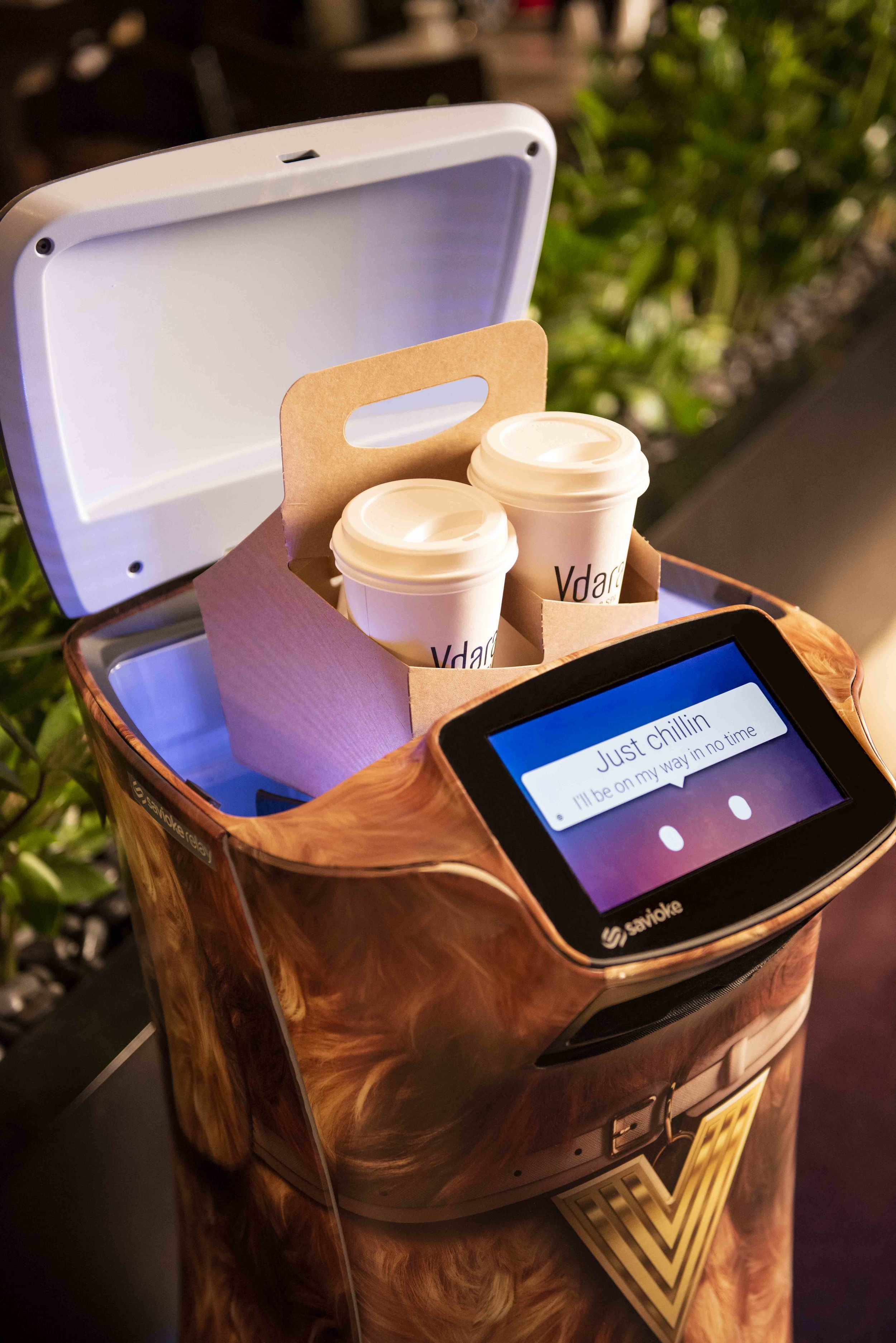 The new robots make it possible for Vdara staff to provide an even higher level of service.