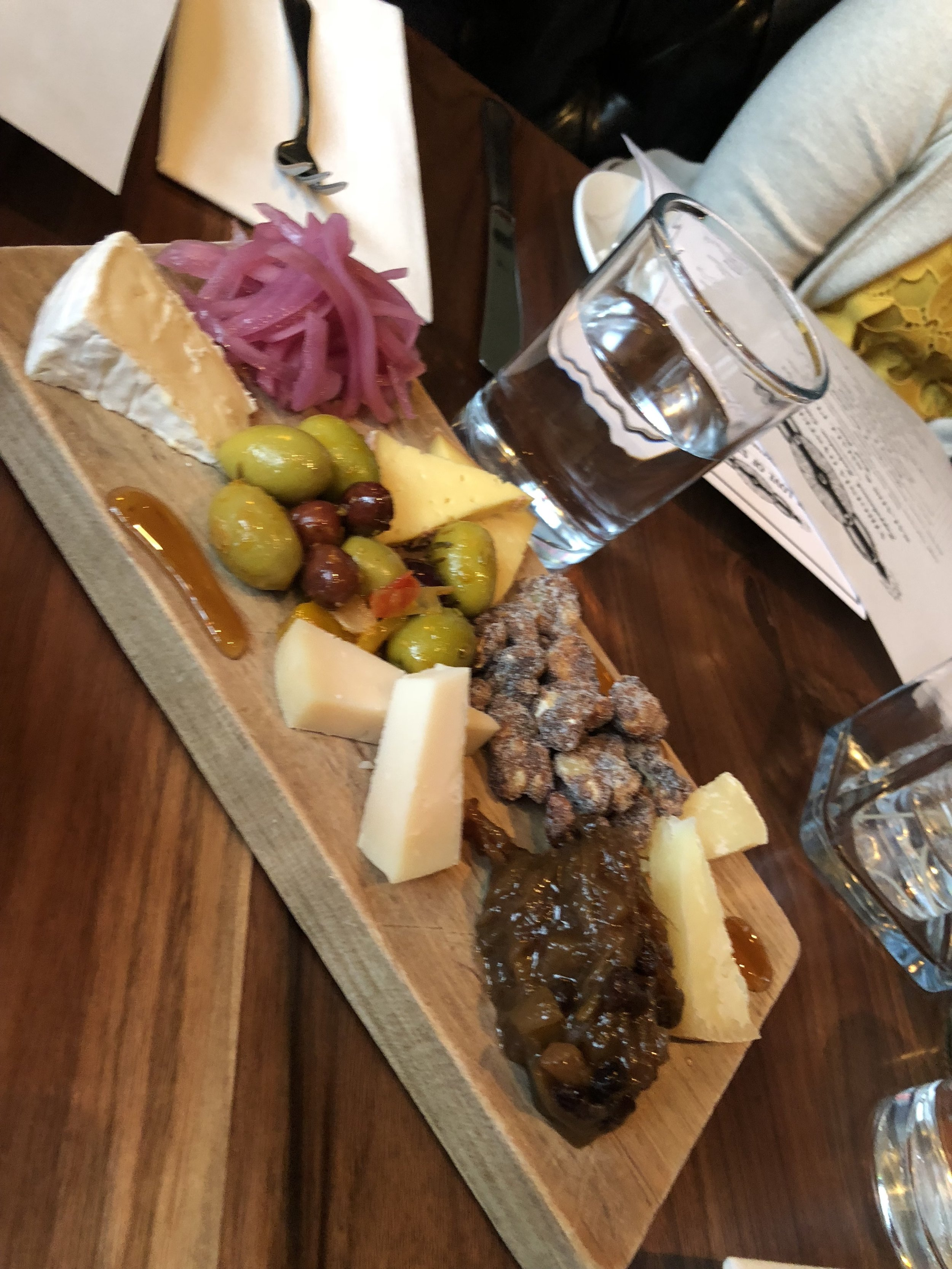 Charcuterie at Lucky's Roanoke