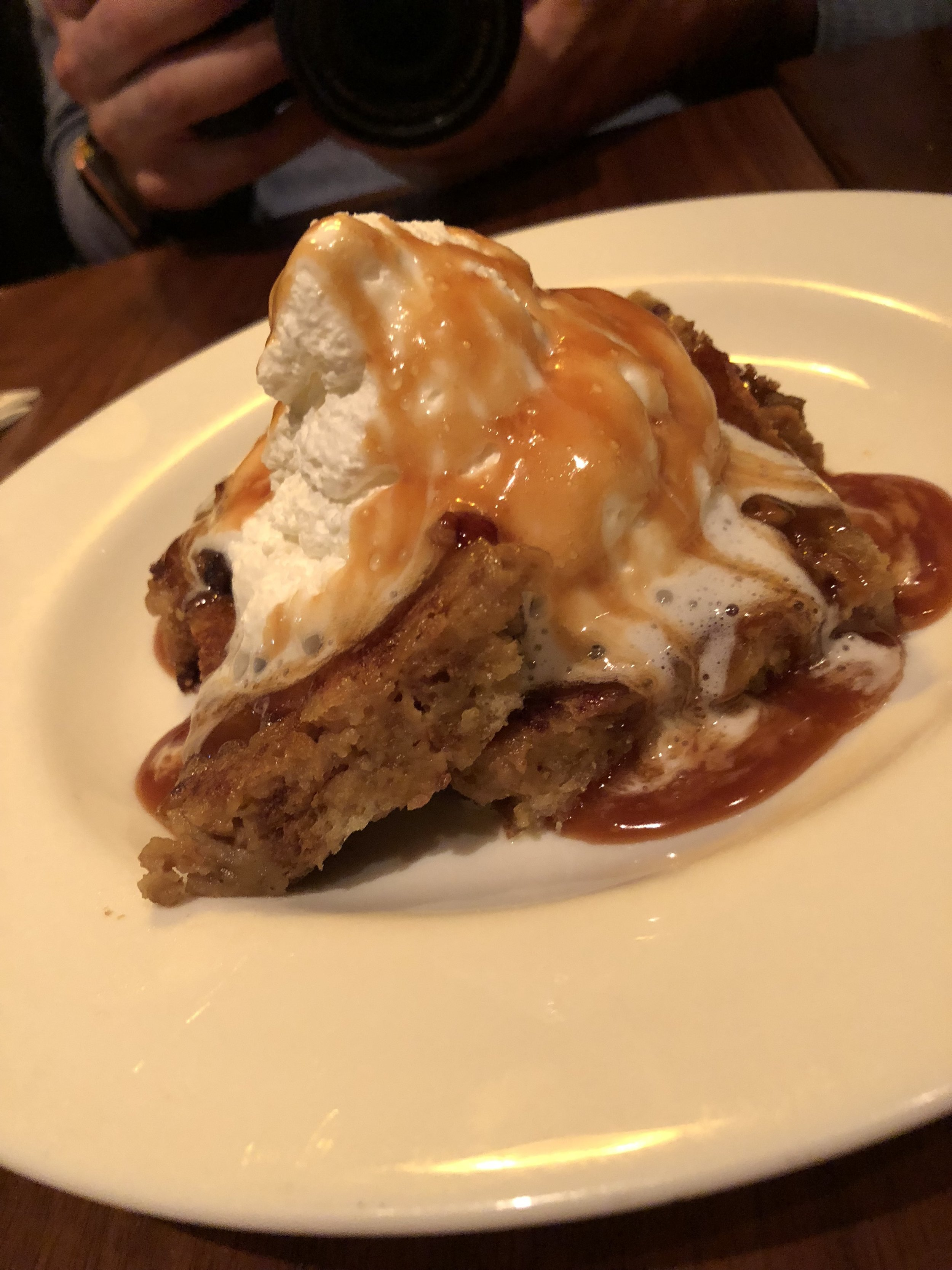 Bread Pudding Lucky's Roanoke