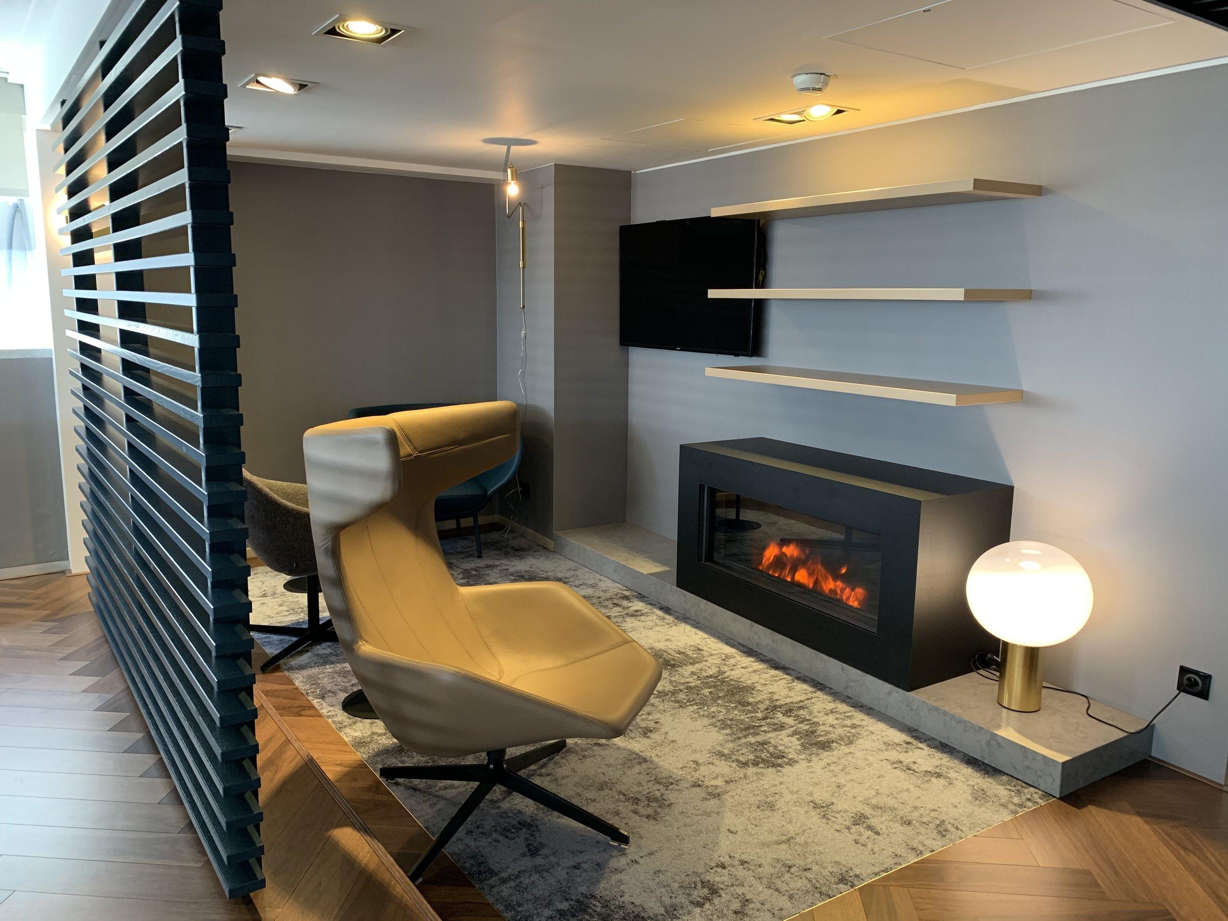 New Refurbished Star Alliance Lounge Paris Charles De Gaulle